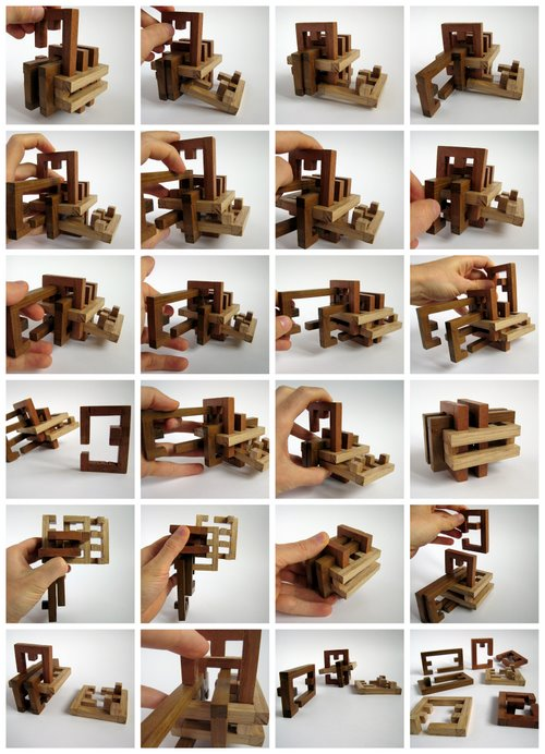2009 - Casse-tête - Grids - David Rousseau - mouvements