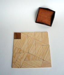 2010 - Casse-tête - Fusiun dal Quadrats - Roland Koch - grand carré