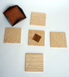 2010 - Casse-tête - Fusiun dal Quadrats - Roland Koch - les couches du parallélépipède