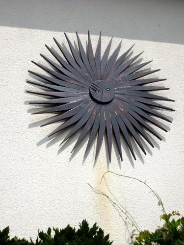 Cadran solaire en bois