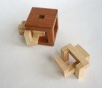 Casse tete  4 piece burr cube  osanori yamamoto 1