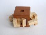 Casse tete  4 piece burr cube  osanori yamamoto 2