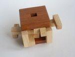 Casse tete  4 piece burr cube  osanori yamamoto 3