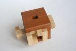 Casse tete  4 piece burr cube  osanori yamamoto 4