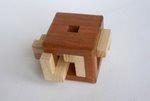 Casse tete  4 piece burr cube  osanori yamamoto 5