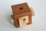 Casse tete  4 piece burr cube  osanori yamamoto 6