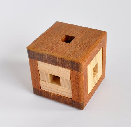 Casse tete  4 piece burr cube  osanori yamamoto