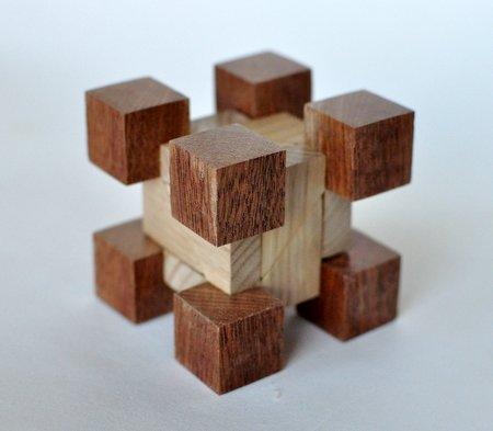 Casse tete  Excrescence s cube  Guy Brette