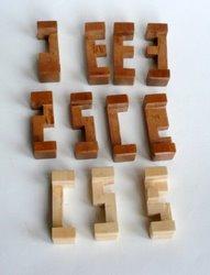 Casse tete  T in cube gyb  guy brette 1