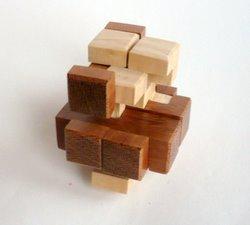 Casse tete  T in cube gyb  guy brette 6