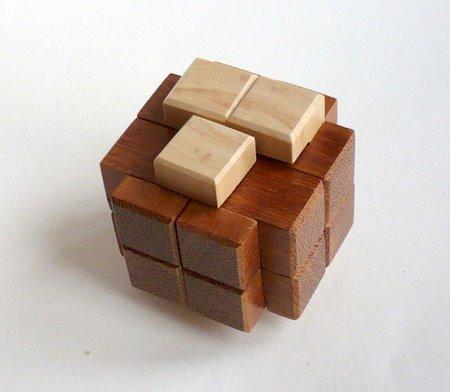 Casse tete  T in cube gyb  guy brette