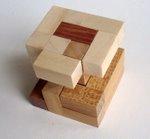 Casse tete  accordion  disjointed cube  Mineyuki Uyematsu Ken Irvine 2