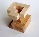 Casse tete  accordion  disjointed cube  Mineyuki Uyematsu Ken Irvine 3