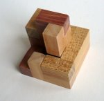 Casse tete  accordion  disjointed cube  Mineyuki Uyematsu Ken Irvine 5