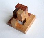 Casse tete  accordion  disjointed cube  Mineyuki Uyematsu Ken Irvine 7