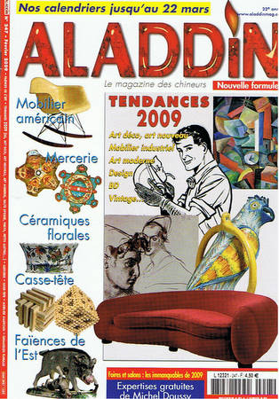 Couverture du magazine Aladdin de Fevrier 2009