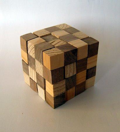 Casse-tête - Chess Board Cube
