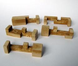 Casse-tête - Collective - pièces du casse-tête interne