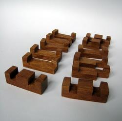 Casse-tête - Collective - pièces d'un des socles