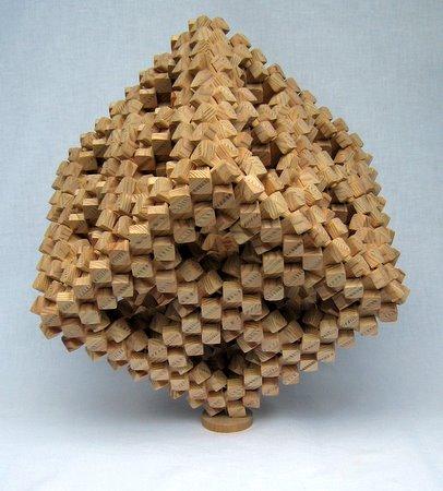 Casse-tete - Cube 3 Crecelles