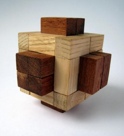 Casse-tête - cube à picots