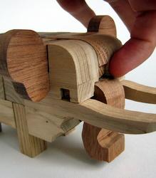 Casse-tête - Elephant - la clé