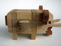 Casse-tête - Elephant - première pièce sortie
