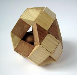 Casse-tête - Four Marbles - Vaclav Obsivac - vue de coté