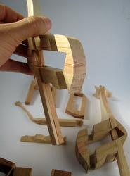 Casse-tête - Girafe - Guy Brette - ça lui fait une belle jambe