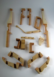 Casse-tête - Girafe - Guy Brette - toutes les pièces