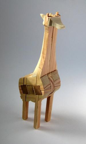 Casse-tête - Girafe - Guy Brette