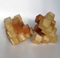 Casse-tête - Grand octaèdre gyb - étape 1