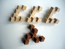 Casse-tête - Impossible Triangle gyb L7 - pièces