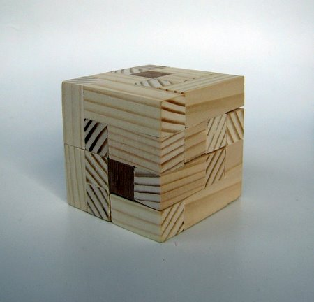 Casse-tête - Knot in a cube
