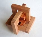 Casse tete  mine s cube in cage 333  Mineyuki Uyematsu 003
