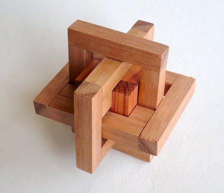 Casse tete  mine s cube in cage 333  Mineyuki Uyematsu 008