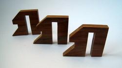 Casse-tete - Phut's 3 pièces - pièces