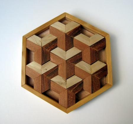 Casse-tête - Puzzle en trompe l'oeil