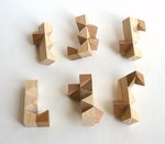 Casse tete  square faces puzzle  stewart t coffin 2