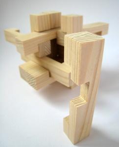 Casse-tête - Star Box - la pièce clé avec le casse-tête en arrière plan