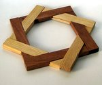 Casse-tête - star puzzle - carrés