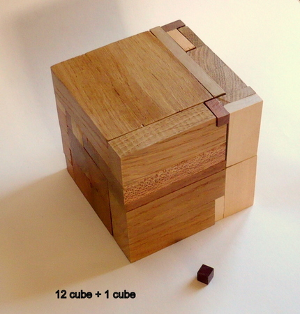 12 cube + 1 cube