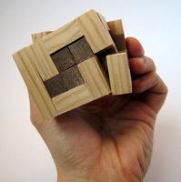 Casse-tete - Treillis 3D gyb - les pièces tournent