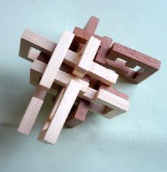 Casse-tête - XTreme Burr - Dereck Bosch - step 1