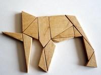 Loculus d'Archimede ou Syntémachion - éléphant