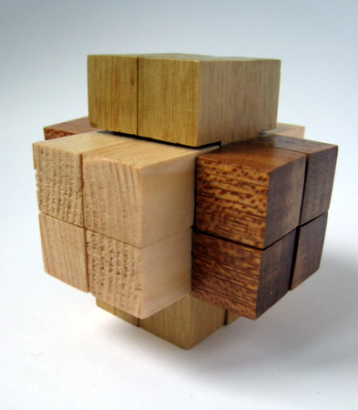 Casse-tête - 12 pieces interlocking Burr Puzzle