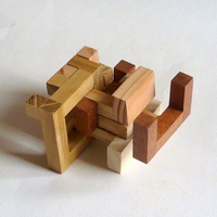 casse-tete - Printable Interlocking Puzzle#4 - Richard Gain-15