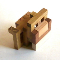 casse-tete - Printable Interlocking Puzzle#4 - Richard Gain-13