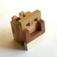 casse-tete - Printable Interlocking Puzzle#4 - Richard Gain-12