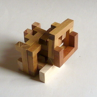 casse-tete - Printable Interlocking Puzzle#4 - Richard Gain-10